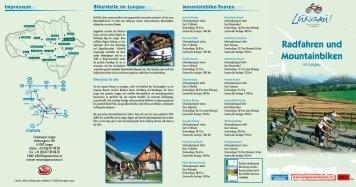 Radfahren und Mountainbiken - Haus Hubertus