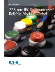 22.5 mm IEC Pushbuttons. Reliable. Modular. Global.