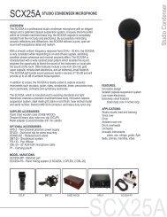 SCX25A - Visono Media AB