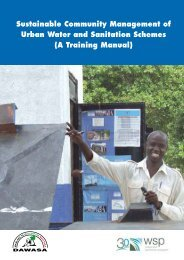 A Training Manual - WSP
