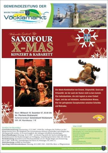 Gemeindezeitung Dezember 2007 (0 bytes) - Vöcklamarkt