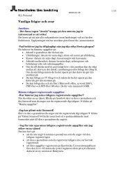 Vanliga frågor och svar - Jobb SLL