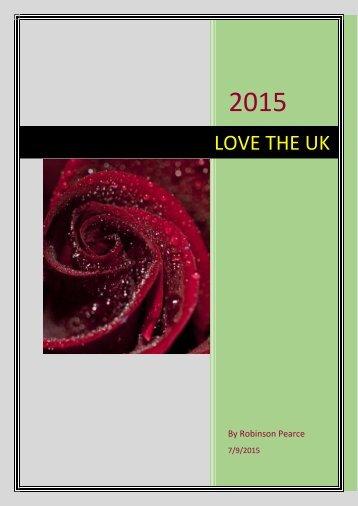 LOVE THE UK by Michioflavia