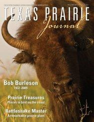 2009 Fall issue - Native Prairies Association of Texas