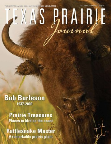 2009 Fall issue - Native Prairies Association of Texas