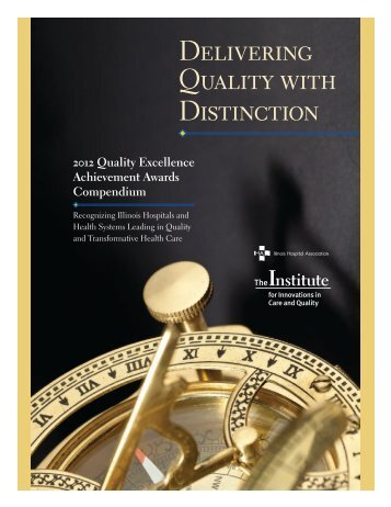 2012 Quality Excellence Achievement Awards Compendium