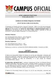 atos administrativos 18.07.2011 - DTI- Diretoria de Tecnologia da ...