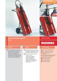 Kohlendioxidlöschgerät C 60 - Minimax Mobile Services GmbH ...