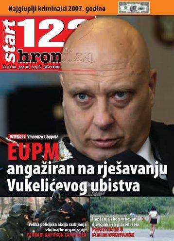 angažiran na rješavanju Vukelićevog ubistva