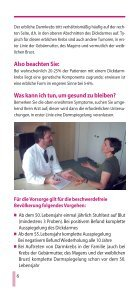 Kampf dem Darmkrebs - Gastro Liga - Page 6