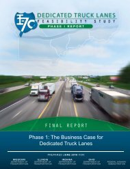 The Business Case for Dedicated Truck Lanes - Infrastructure ...