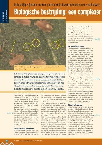 Biologische bestrijding: een complexer maar ... - Wageningen UR