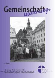 November 2013 - Evangelischer Gemeinschaftsverband Pfalz e.V.