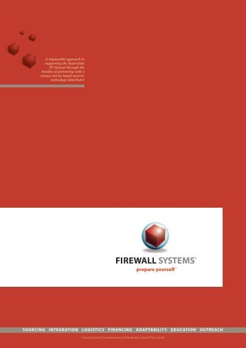 prepare yourself - Firewall Systems