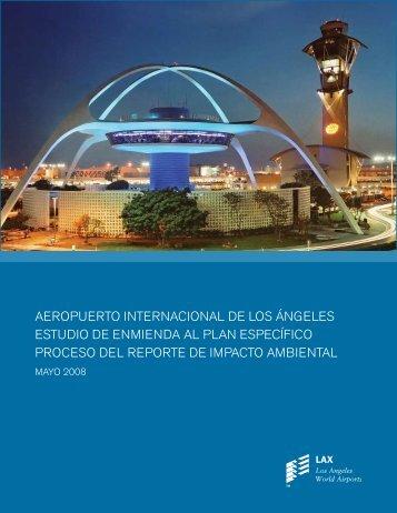 aeropuerto internacional de los ángeles estudio ... - LAX Master Plan