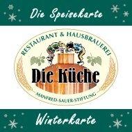 Die Speisekarte - Manfred-Sauer-Stiftung