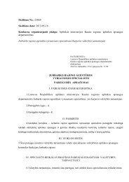 Aplinkos ministerijos Kauno regiono aplinkos ap