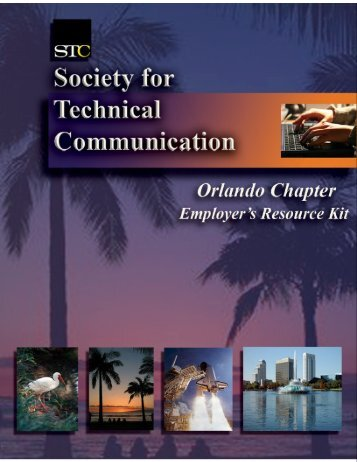 What is Technical Communication? - Orlando Chapter STC