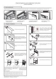 Installation Instruction - GEM,Gianni Industries, Inc.