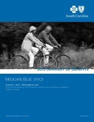 Summary of Benefits - Blue Cross and Blue Shield of South Carolina ...