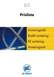 Prislista Armering 2007-11-01.pdf - BE Group