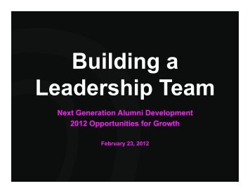 Building a Leadership Team.2012.02.23.R01 2.pptx (Read-Only)