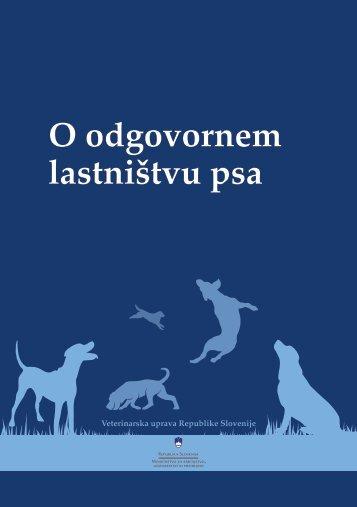 O odgovornem lastništvu psa - Veterinarska uprava Republike ...