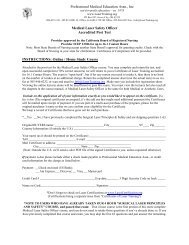 Laser Certification Review NCLC Certified Laser Repair