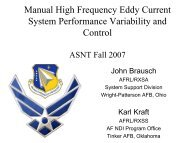 Review of Brausch Variability Studies