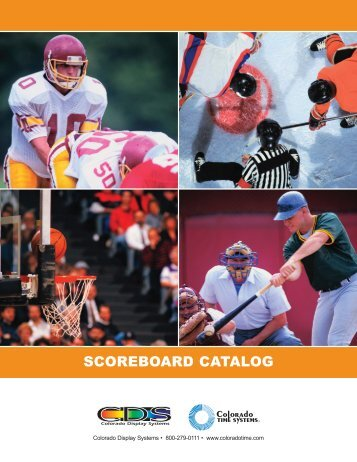 SCOREBOARD CATALOG - Colorado Time Systems
