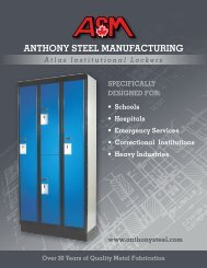 Atlas Institutional Locker - Anthony Steel Manufacturing