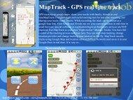 MapTrack - GPS real time track - RunMob