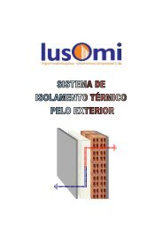 sistema de isolamento térmico pelo exterior - Globalconstroi
