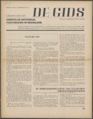 De Gids (1940) nr. 7 - Vakbeweging in de oorlog