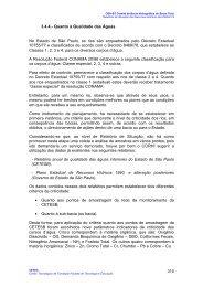 Quanto à Qualidade das Águas - sigrh - Governo do Estado de São ...