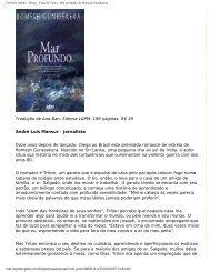 O Globo Online :: Blogs - Prosa & Verso - Mar ... - L&PM Editores