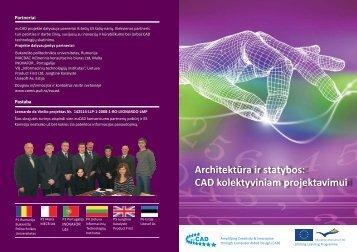 Architektūra ir statybos: CAD kolektyviniam projektavimui