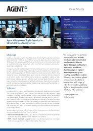 Case Study – Spyke Security - Agent Vi