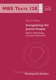 Evangelizing the Jewish People - Martin Bucer Seminar