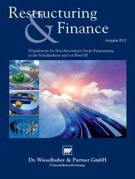 Platzierung von Corporate Bonds - FMS Aktiengesellschaft