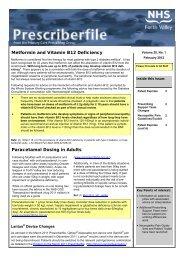 Metformin and Vitamin B12 Deficiency - Community Pharmacy