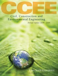 2008-09 - Civil, Construction, and Environmental Engineering - Iowa ...