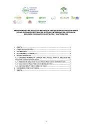 Procedimiento de solicitud de pago de costes retroactivos por parte ...