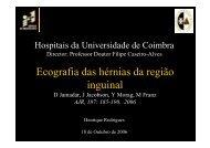 Ecografia das hérnias da região inguinal - Hospitais da ...