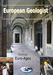 EGM 30 download.pdf - European Federation of Geologists