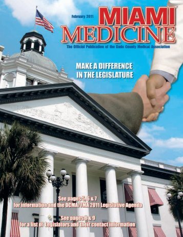 February 2011 The Official Publication of the Dade County Medical ...