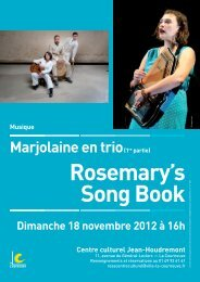 tract Marjolaine Rosemary - Courneuve