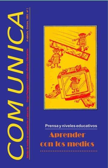 Aprender con los medios - Revista Comunicar