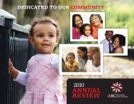 2010 Annual Report - Associated Black Charities