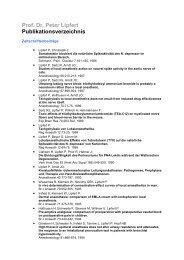 Publikationsverzeichnis Prof. Dr. Peter Lipfert (PDF, 26 KB) - Sana ...